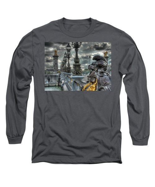 Pont Alexandre IIi  Long Sleeve T-Shirt