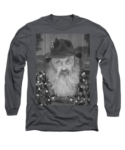 Popcorn Sutton - Jam - Moonshine Long Sleeve T-Shirt