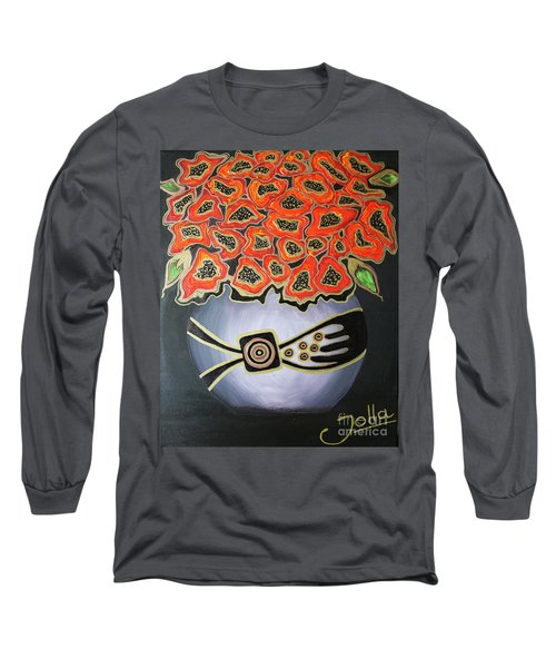 Poppies Revisited.. Long Sleeve T-Shirt