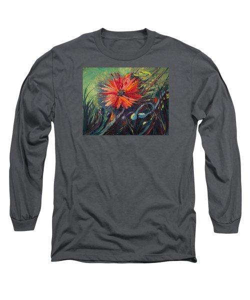 Poppin' Poppies Long Sleeve T-Shirt