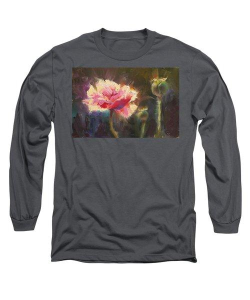 Poppy Glow Long Sleeve T-Shirt