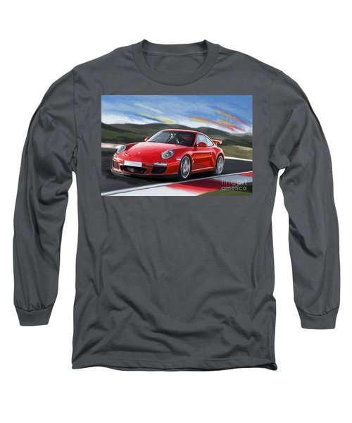 Porsche 911 Gt3 Long Sleeve T-Shirt
