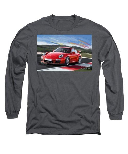 Porsche 911 Gt3 Long Sleeve T-Shirt