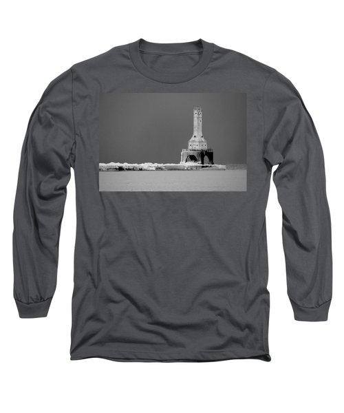 Port Washington Harbor Long Sleeve T-Shirt