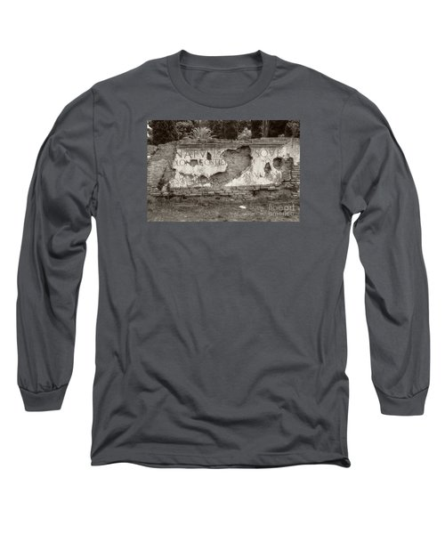 Porta Romana In Sepia Long Sleeve T-Shirt