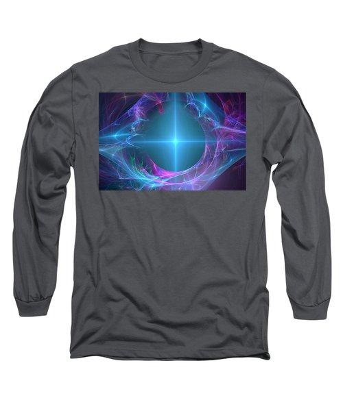 Long Sleeve T-Shirt featuring the digital art Portal To The Unknown by Svetlana Nikolova