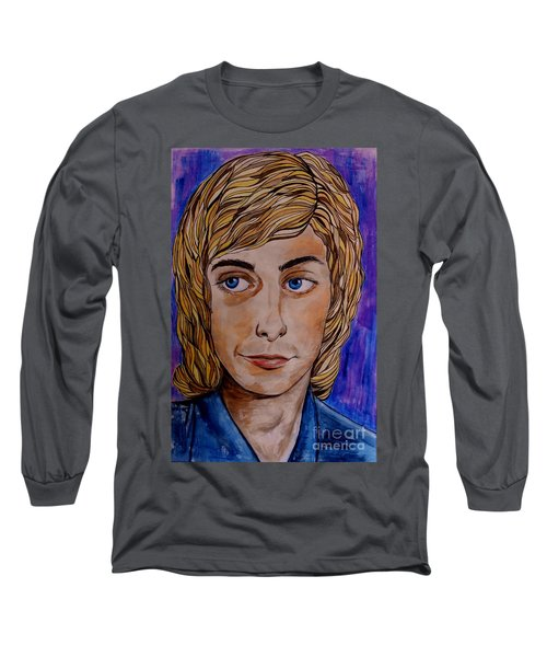 Portrait Of Barry 2 Long Sleeve T-Shirt