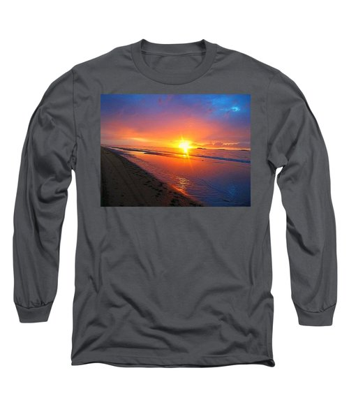 Portrush Sunset Long Sleeve T-Shirt