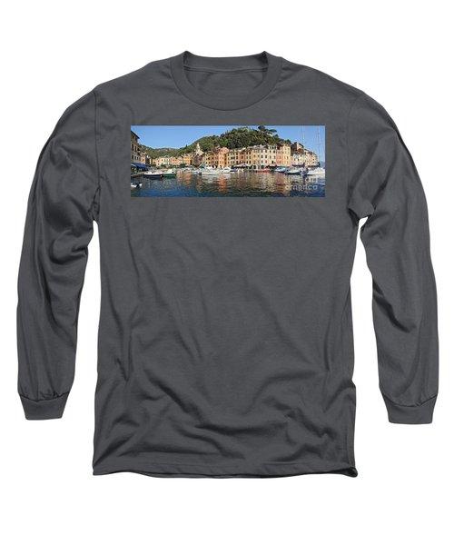 Long Sleeve T-Shirt featuring the photograph Porttofino - Italy by Antonio Scarpi