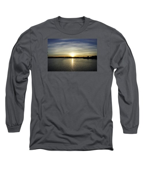 Potomac Sunset Long Sleeve T-Shirt by Laurie Perry