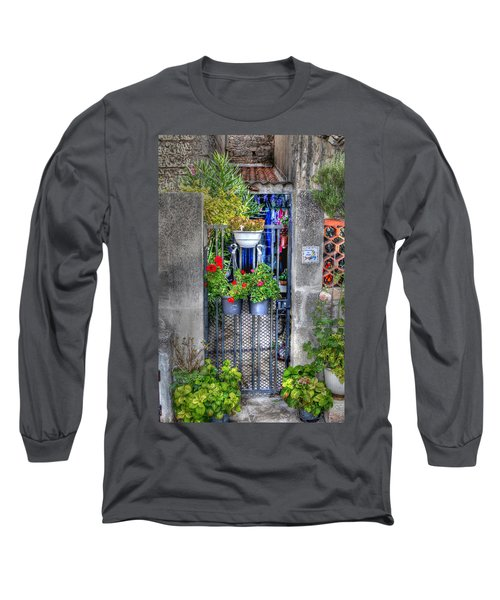 Long Sleeve T-Shirt featuring the photograph Pots Perouge France by Tom Prendergast
