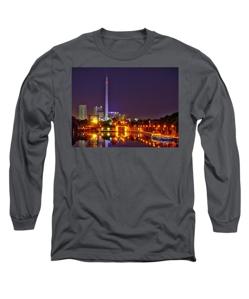 Powerhouse In A Sea Of Lights Long Sleeve T-Shirt