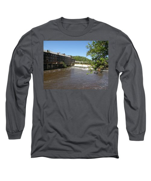 Pratt Cotton Factory Long Sleeve T-Shirt by Caryl J Bohn