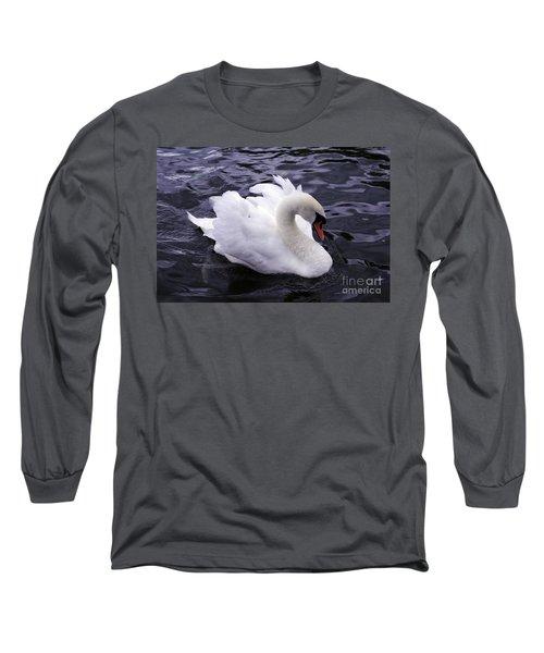 Pretty Swan Long Sleeve T-Shirt