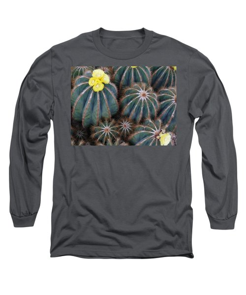 Long Sleeve T-Shirt featuring the photograph Prickly Beauties by Evelyn Tambour