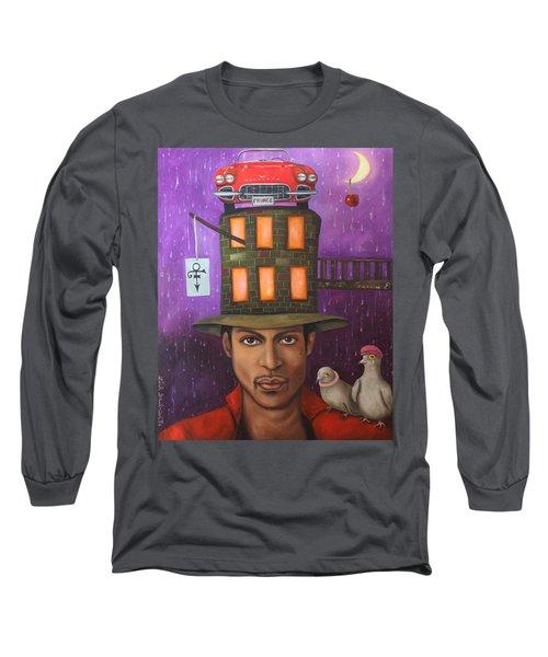 Prince Long Sleeve T-Shirt by Leah Saulnier The Painting Maniac
