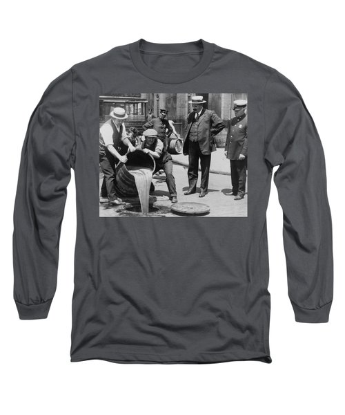Prohibition In The Usa Long Sleeve T-Shirt