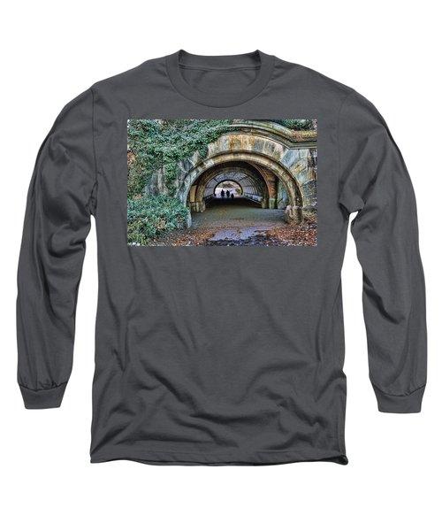 Prospect Park Passage - Brooklyn Long Sleeve T-Shirt by Jeffrey Friedkin