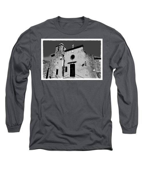 Provencal Church  Long Sleeve T-Shirt