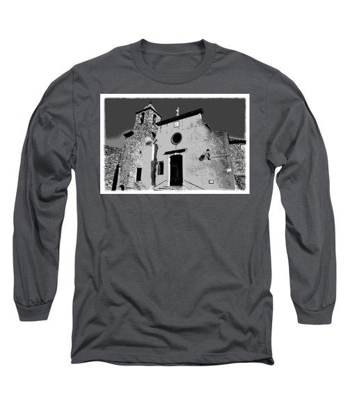 Provencal Church  Long Sleeve T-Shirt