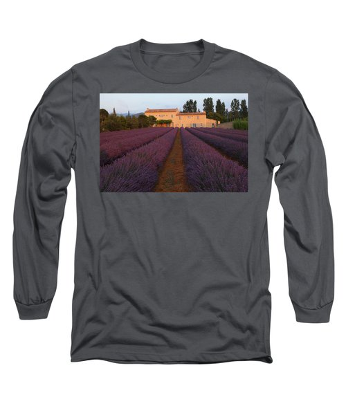 Provencal Villa  Long Sleeve T-Shirt by Susan Rovira