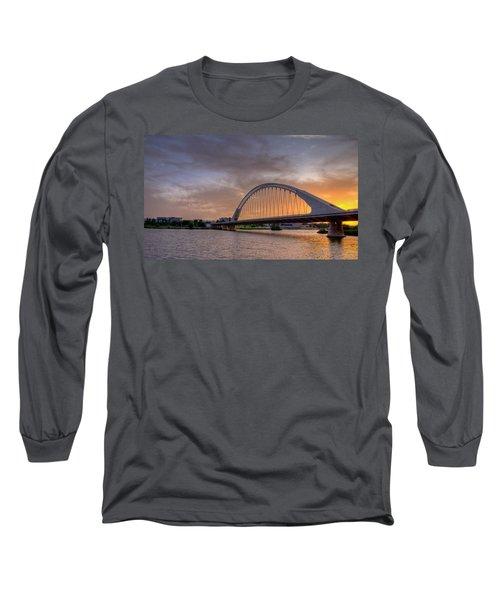 Puente De Lusitania II Long Sleeve T-Shirt