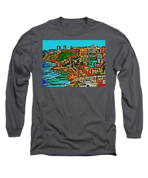 Puerto Rico Old San Juan  Long Sleeve T-Shirt