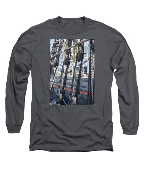 Pulley And Stay Long Sleeve T-Shirt