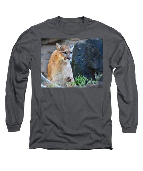 Puma On The Watch Long Sleeve T-Shirt by John Telfer