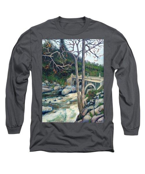 Pumpkin Hollow Bridge Long Sleeve T-Shirt