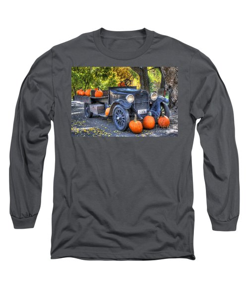 Pumpkin Hoopie Long Sleeve T-Shirt