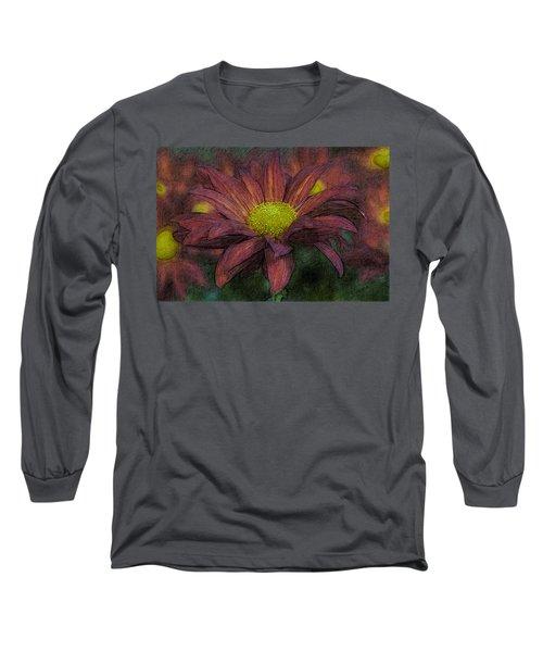 Purple Mum Long Sleeve T-Shirt