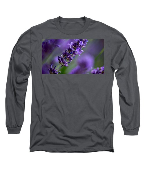 Purple Nature - Lavender Lavandula Long Sleeve T-Shirt