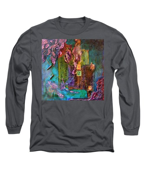 Purple Prose Long Sleeve T-Shirt