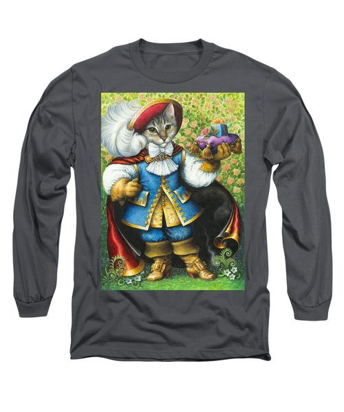 Puss-in-boots Long Sleeve T-Shirt