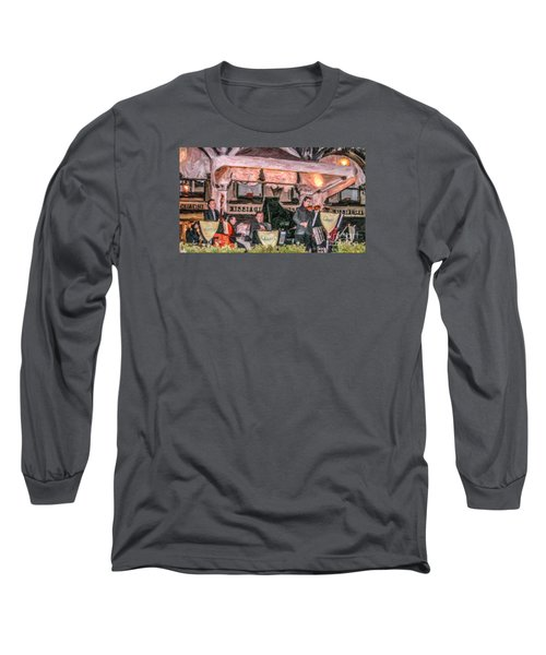 Quadri Orchestra Venice Long Sleeve T-Shirt by Liz Leyden