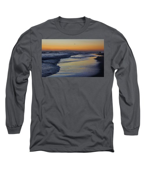 Quiet Long Sleeve T-Shirt by Tammy Espino