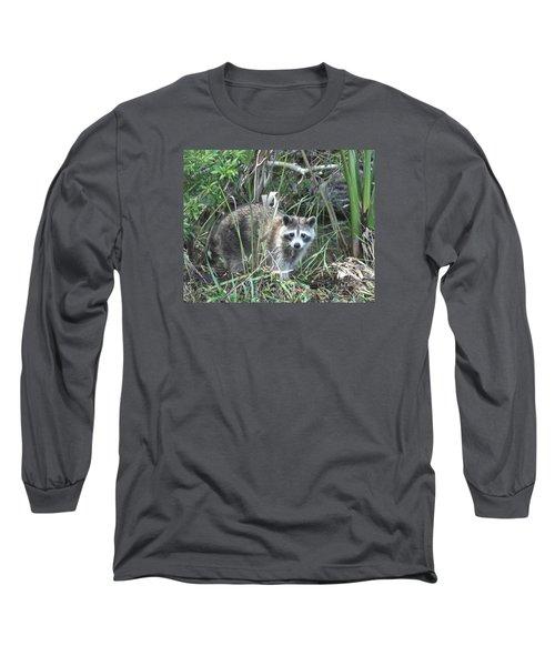 Raccoon Long Sleeve T-Shirt