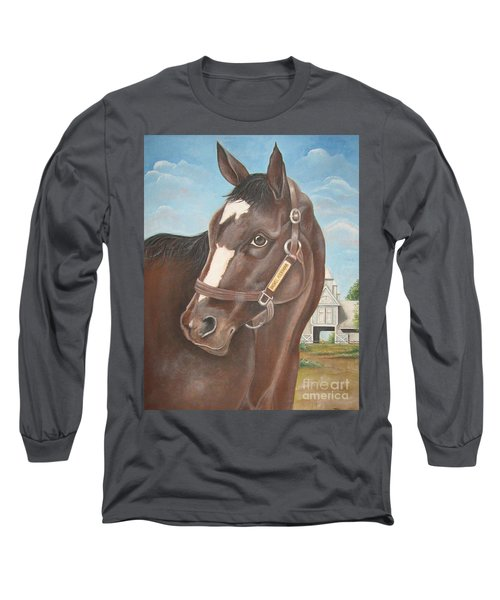 Rachel Alexandra At Stonestreet Farms Long Sleeve T-Shirt