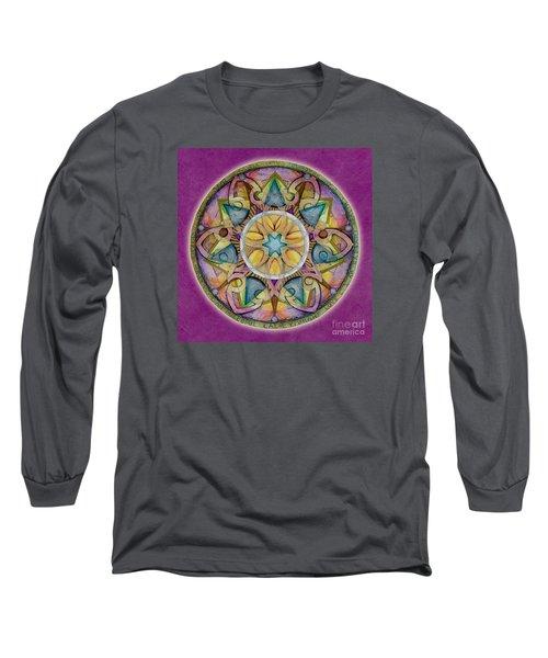 Radiant Health Mandala Long Sleeve T-Shirt