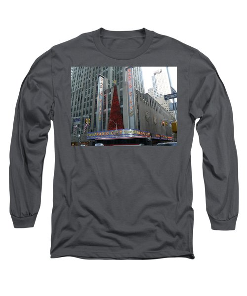 Radio City Christmas Long Sleeve T-Shirt