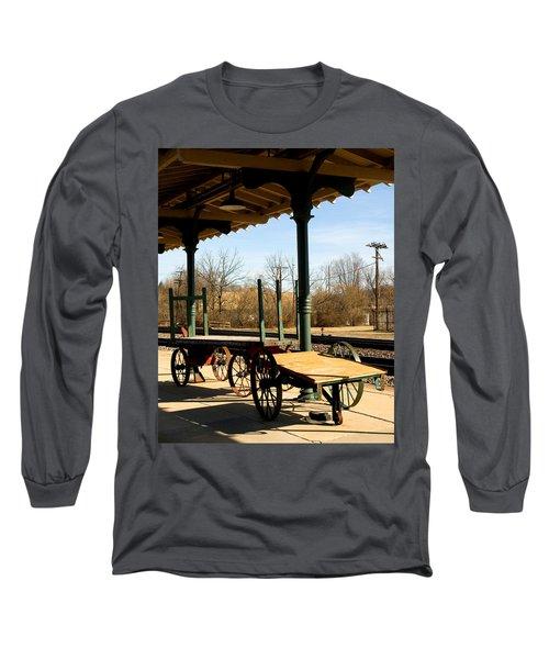 Railroad Wagons Long Sleeve T-Shirt