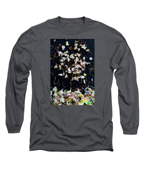 Rain Of Petals Long Sleeve T-Shirt