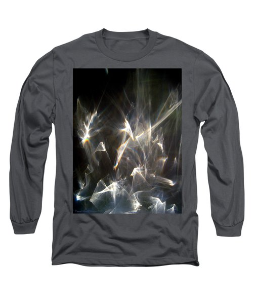 Long Sleeve T-Shirt featuring the photograph Rainbow Pieces by Leena Pekkalainen