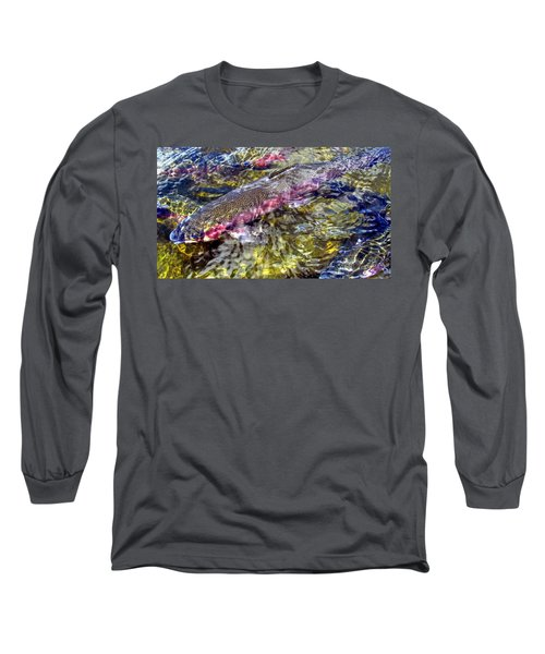 Rainbow Trout Long Sleeve T-Shirt