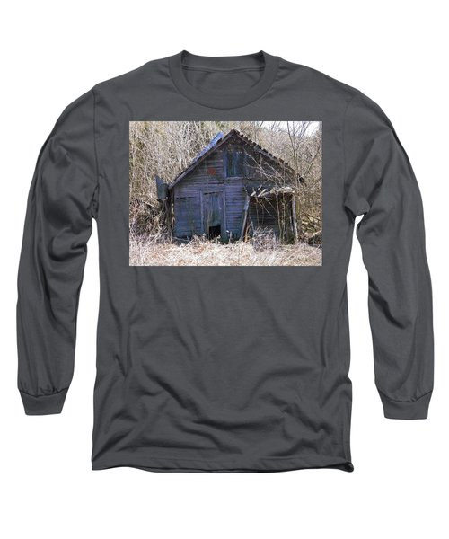 Long Sleeve T-Shirt featuring the photograph Ramshackled by Nick Kirby