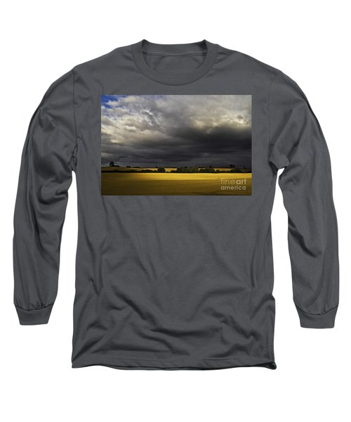 Rapefield Under Dark Sky Long Sleeve T-Shirt by Heiko Koehrer-Wagner