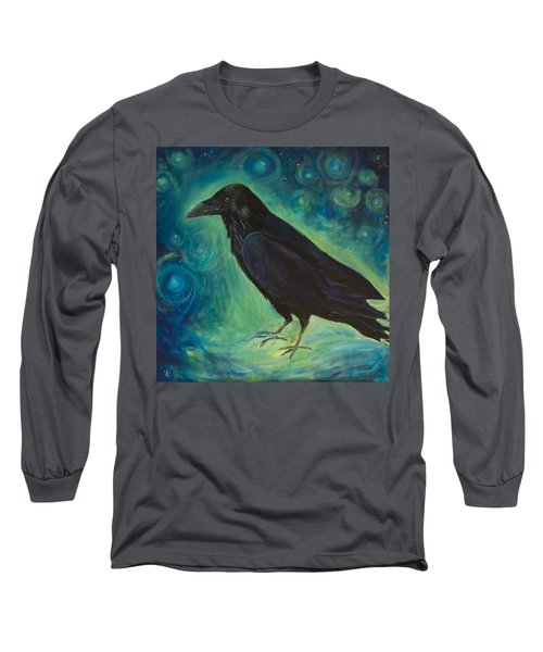 Space Raven Long Sleeve T-Shirt