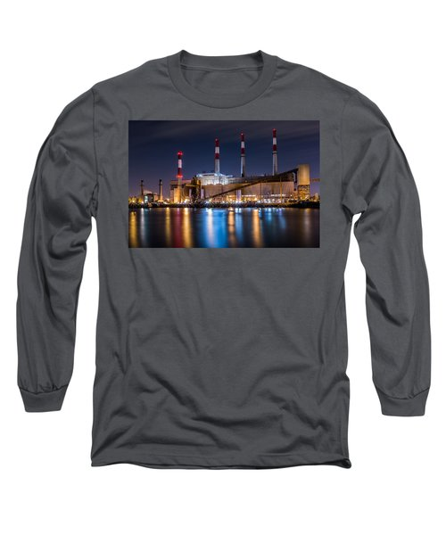Ravenswood Generating Station Long Sleeve T-Shirt