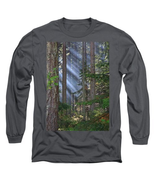 Rays Long Sleeve T-Shirt by Randy Hall